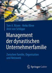 Cover des Buches Management von dynastischen Unternehmerfamilien